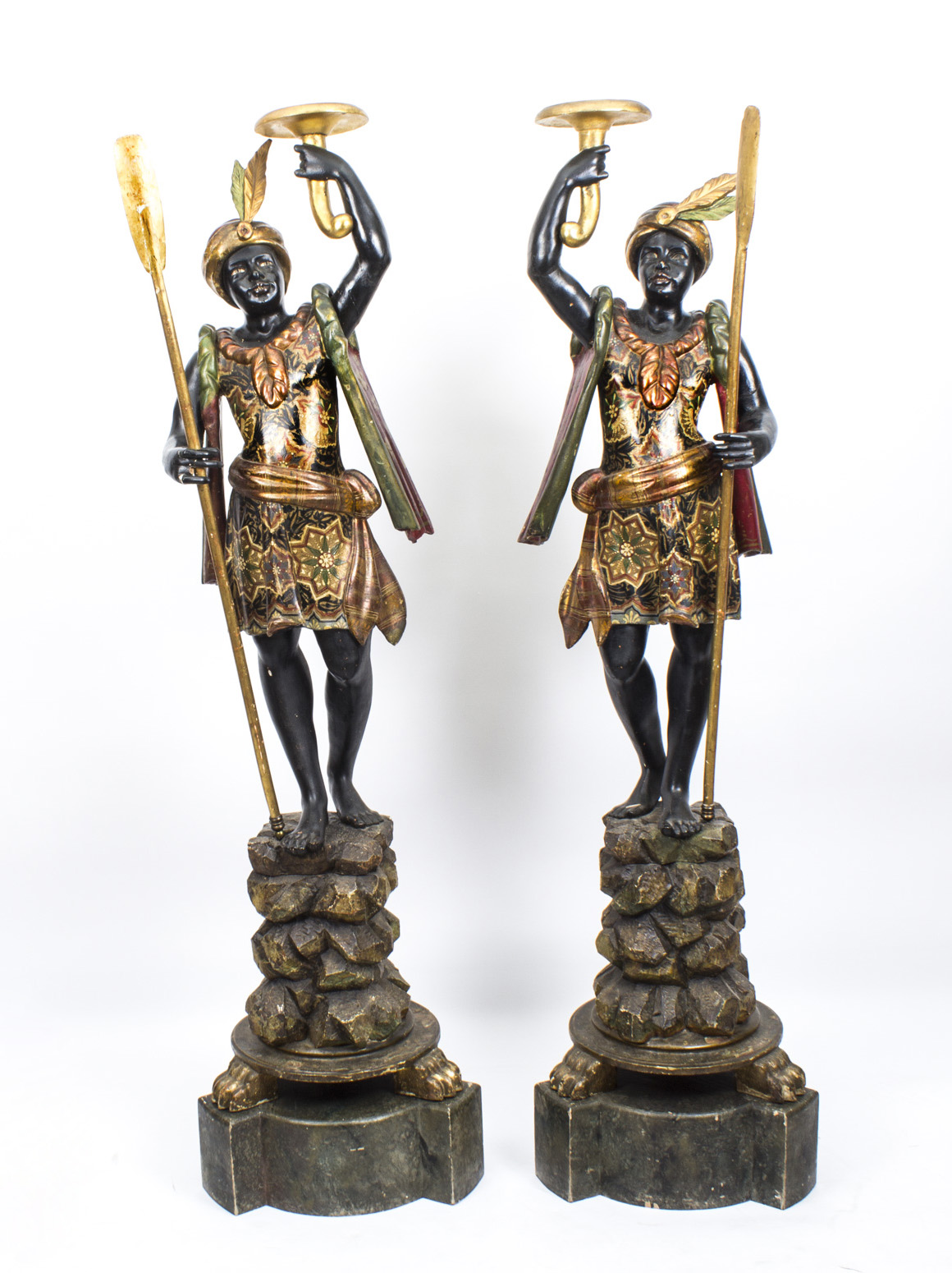 Antique Pair Of Venetian Ref No 07884 Regent Antiques