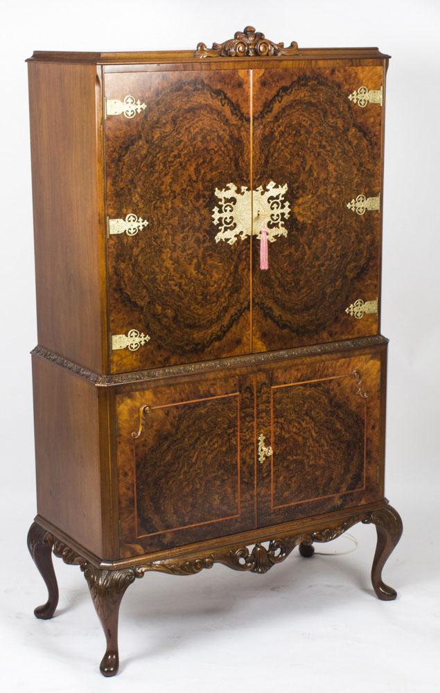 Vintage Burr Walnut Ref No 08731 Regent Antiques