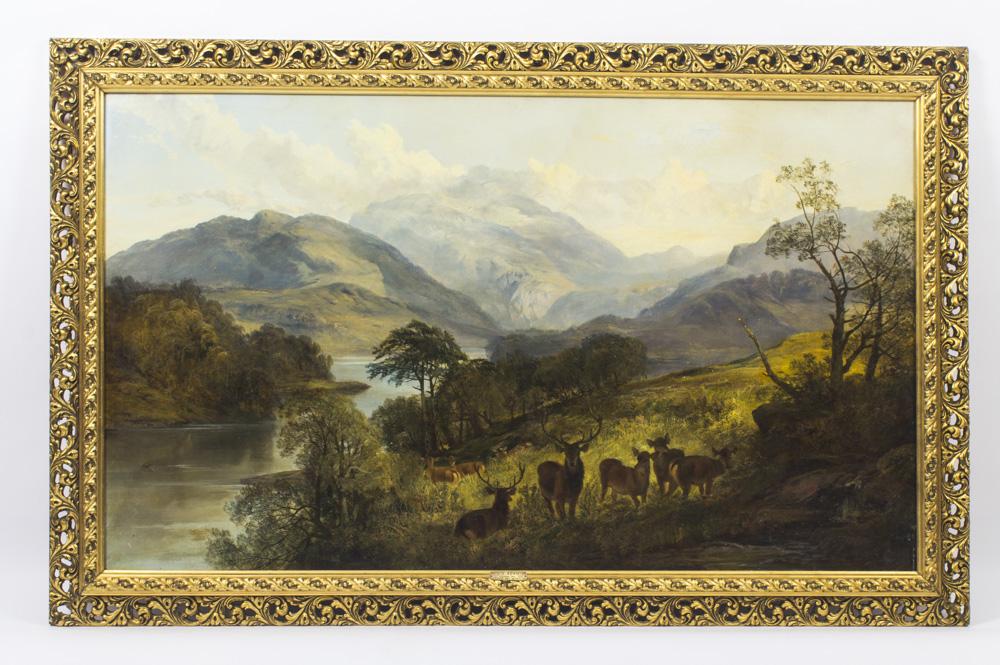 Antique Oil Painting By Ref No 08875 Regent Antiques