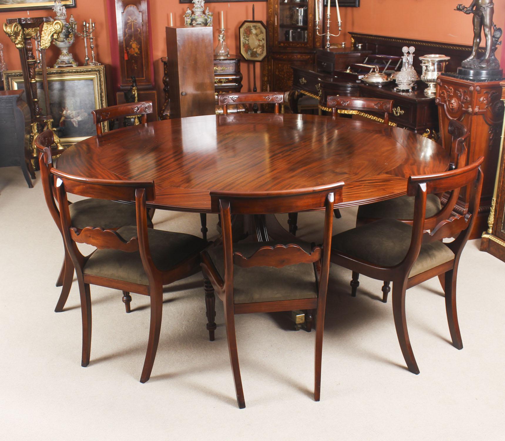 Vintage Mahogany Dining Ref No 09061a Regent Antiques
