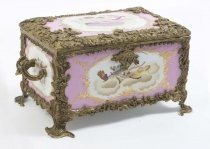 00209-Lovely-Hand-Painted-Sevres-Style-Porcelain-Casket-Pink
