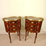 00250-Pair-French-Louis-XV-Mahogany-Walnut-Bedside-Cabin