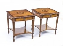 05074-Stunning-Pair-Birdseye-Maple-Side-Occasional-Tables
