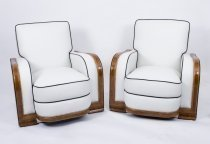 06537a-Antique-Pair-Art-Deco-Ivory-Leather-Armchairs-C1930
