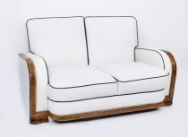 06537b-Antique-Art-Deco-Ivory-Leather-2-Seat-Settee-C1930