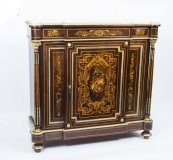 06559-Antique-French-Napoleon-III-Marquetry-Cabinet-c.1860