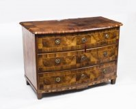 Antique South German Walnut Chest Commode