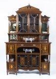 06841-Antique-Edwardian-Rosewood-Inlaid-Cabinet-c.-1890