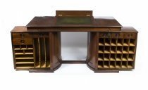 06843-Antique-Rare-Victorian-Pedestal-Desk-Wooton-Style-C1870
