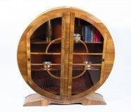06908-Antique-Art-Deco-Figured-Walnut-Display-Cabinet-c.1930