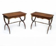 07025-Pair-Empire-Style-Mahogany-Side-Tables-with-a-Drawer