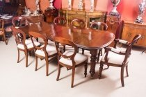 07050a-Antique-Victorian-Walnut-Dining-Table-&-8-Balloon-Back-chairs