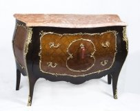 Antique French Parquetry Commode Chest