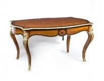 07105-Antique-French-Parquetry-Centre-Writing-Table-c.1860