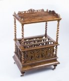 07111-Antique-Victorian-Burr-Walnut-Canterbury-c.1850
