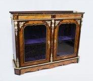 07130-Antique-Victorian-Tulipwood-&-Kingwood-Vitrine-Cabinet-C1850
