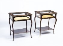 07162-Antique-Pair-French-Marquetry-Display-Table-c.1880