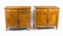 07307-Antique-Pair-Satinwood-Commodes-Cabinets-Maple-&-Co-C1880
