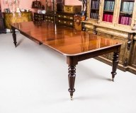 07400-Antique-William-IV-10-ft-Mahogany-Extending-Dining-Table-c.1835