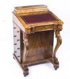 07529-Antique-Victorian-Burr-Walnut-Davenport-Desk-c.1870