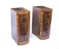 07614-Antique-Pair-Art-Deco-Walnut-Cloud-Bedside-Chests-Cabinets-1930