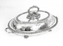 Antique Victorian Silver Plated Entree Dish Mappin