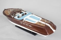Vintage model of a Riva Aquarama speedboat 20th Century