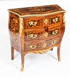 Antique French Louis Revival Marquetry Commode