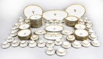 Royal Copenhagen Porcelain 171 Piece Golden Basket Dinner Service