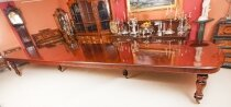 Huge 20ft D End Mahogany Bespoke Dining Table 21st C