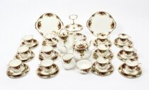 Royal Albert 12 Place Tea & Coffee Service Set Mid 20th Century