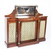 Antique Regency Gonçalo Alves Chiffonier Sideboard C1820 19th C