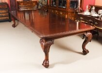 Antique 12 ft Extending Dining Table by Edwards & Roberts C1860 19th C