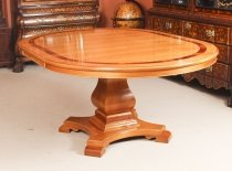 Vintage Circular Extending Dining Table by Charles Barr 20th Century