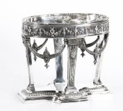 Antique Victorian Silver plate Centrepiece by Horace Woodward and Co. 1876