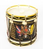 Vintage Military Ice Bucket with Staffordshire Royal Coat of Arms Mid 20th C
