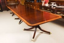Antique 14ft Regency Revival Metamorphic Dining Table 19th Century