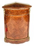 Antique Kingwood & Marquetry Marquetry Low Corner Cabinet