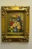 P0301-Oil-Painting-Flowers-Giltwood-Frame