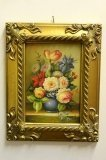 P0305-Oil-Painting-Flowers-Giltwood-Frame