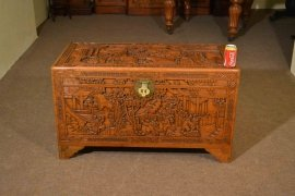 00376-Vintage-Chinese-Camphorwood-Trunk-Coffer-C1950-12