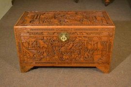 00376-Vintage-Chinese-Camphorwood-Trunk-Coffer-C1950-13