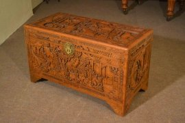00376-Vintage-Chinese-Camphorwood-Trunk-Coffer-C1950-5