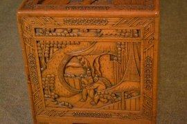 00376-Vintage-Chinese-Camphorwood-Trunk-Coffer-C1950-7