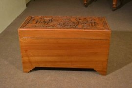 00376-Vintage-Chinese-Camphorwood-Trunk-Coffer-C1950-8