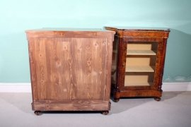 01411-Pair-Victorian-Burr-Walnut-Inlaid-Display-Cabinets-5