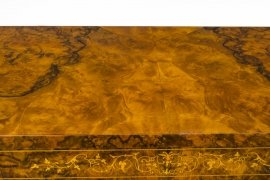 01411-Pair-of-Burr-Walnut-Display-Cabinets-Victorian-Style-10