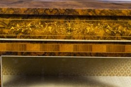 01411-Pair-of-Burr-Walnut-Display-Cabinets-Victorian-Style-12