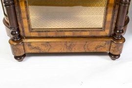 01411-Pair-of-Burr-Walnut-Display-Cabinets-Victorian-Style-19
