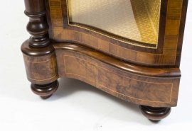 01411-Pair-of-Burr-Walnut-Display-Cabinets-Victorian-Style-20
